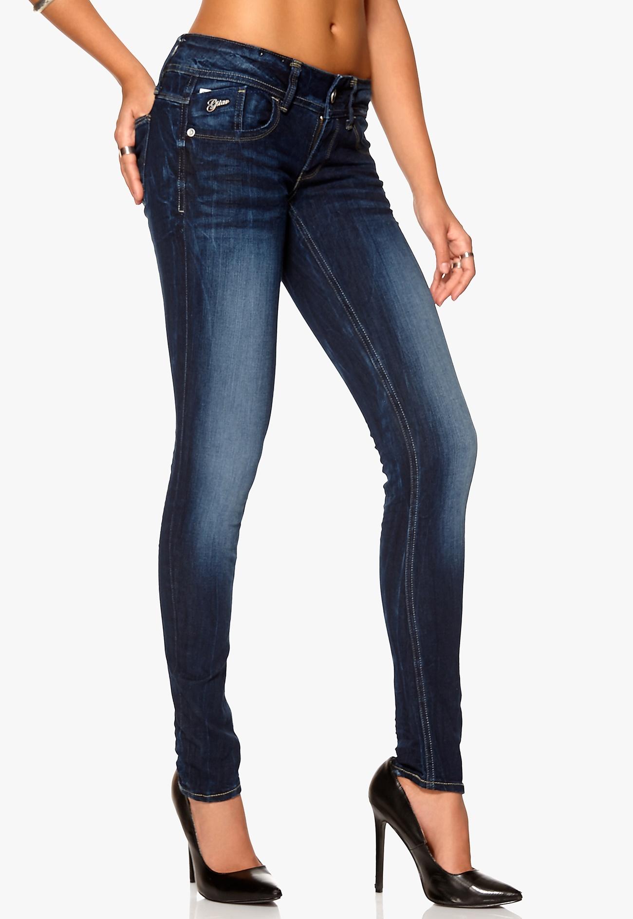 g star lynn skinny jeans 89 dk aged bubbleroom. Black Bedroom Furniture Sets. Home Design Ideas