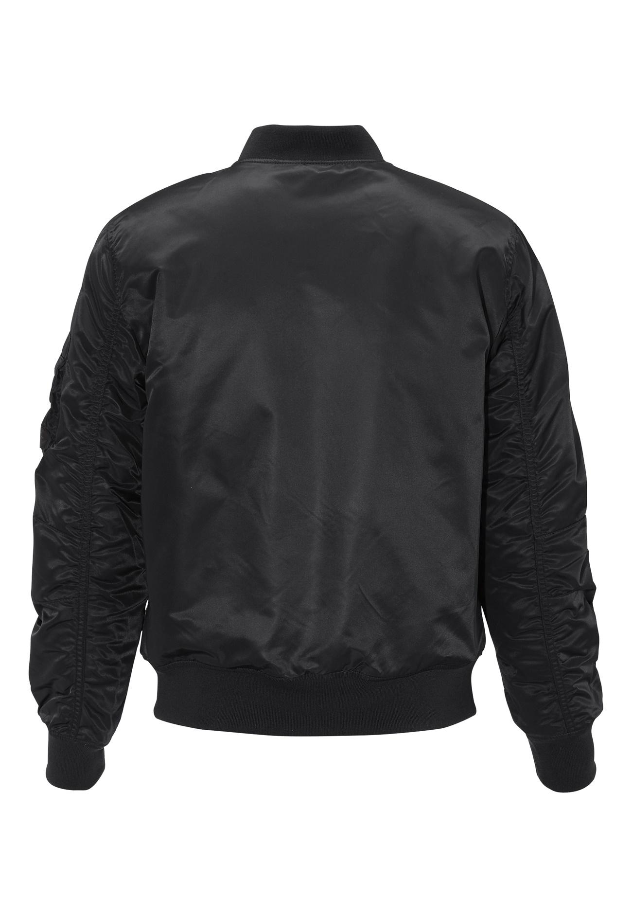 jack jones porten bomber jacket black bubbleroom. Black Bedroom Furniture Sets. Home Design Ideas