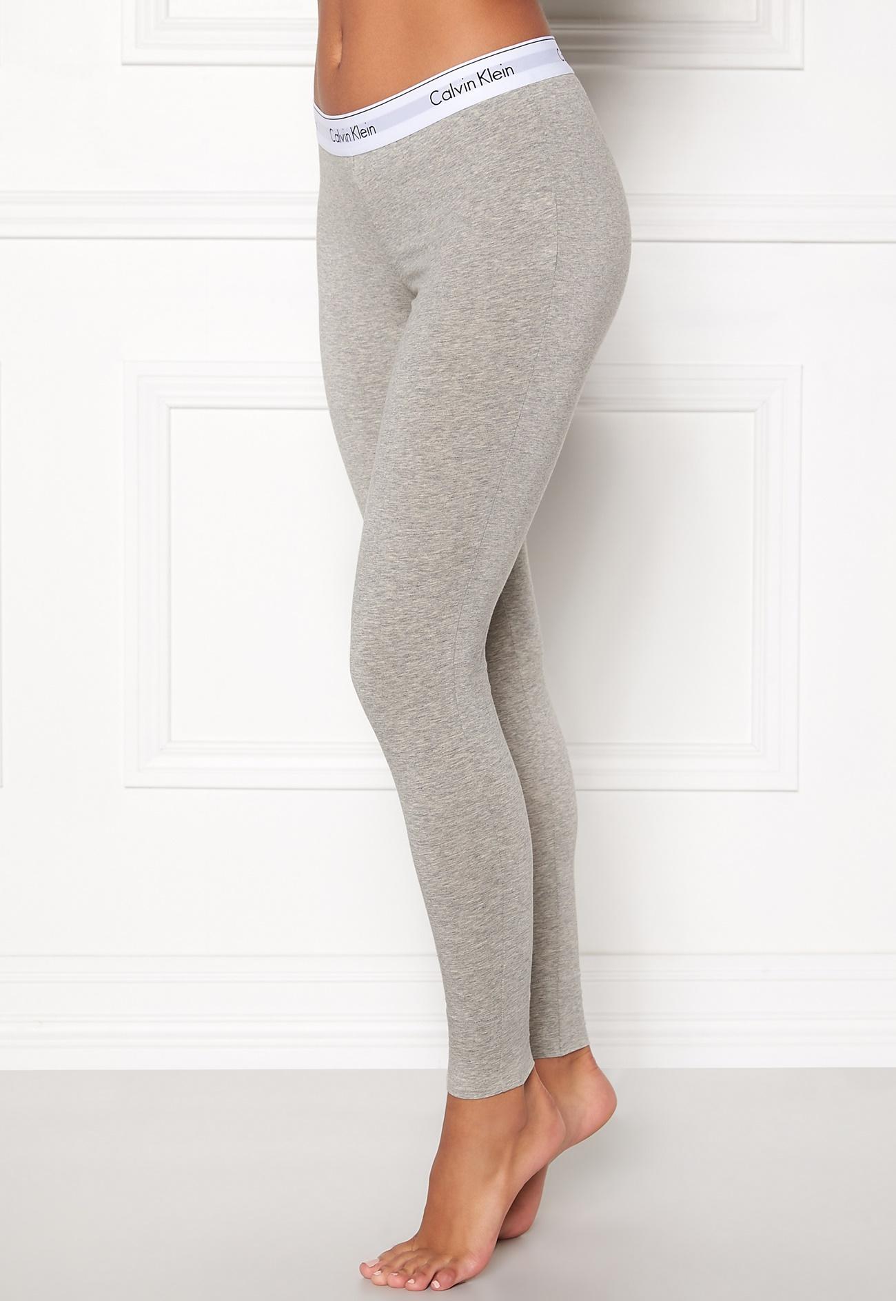Calvin Klein Legging Pant 0020 Grey - Bubbleroom