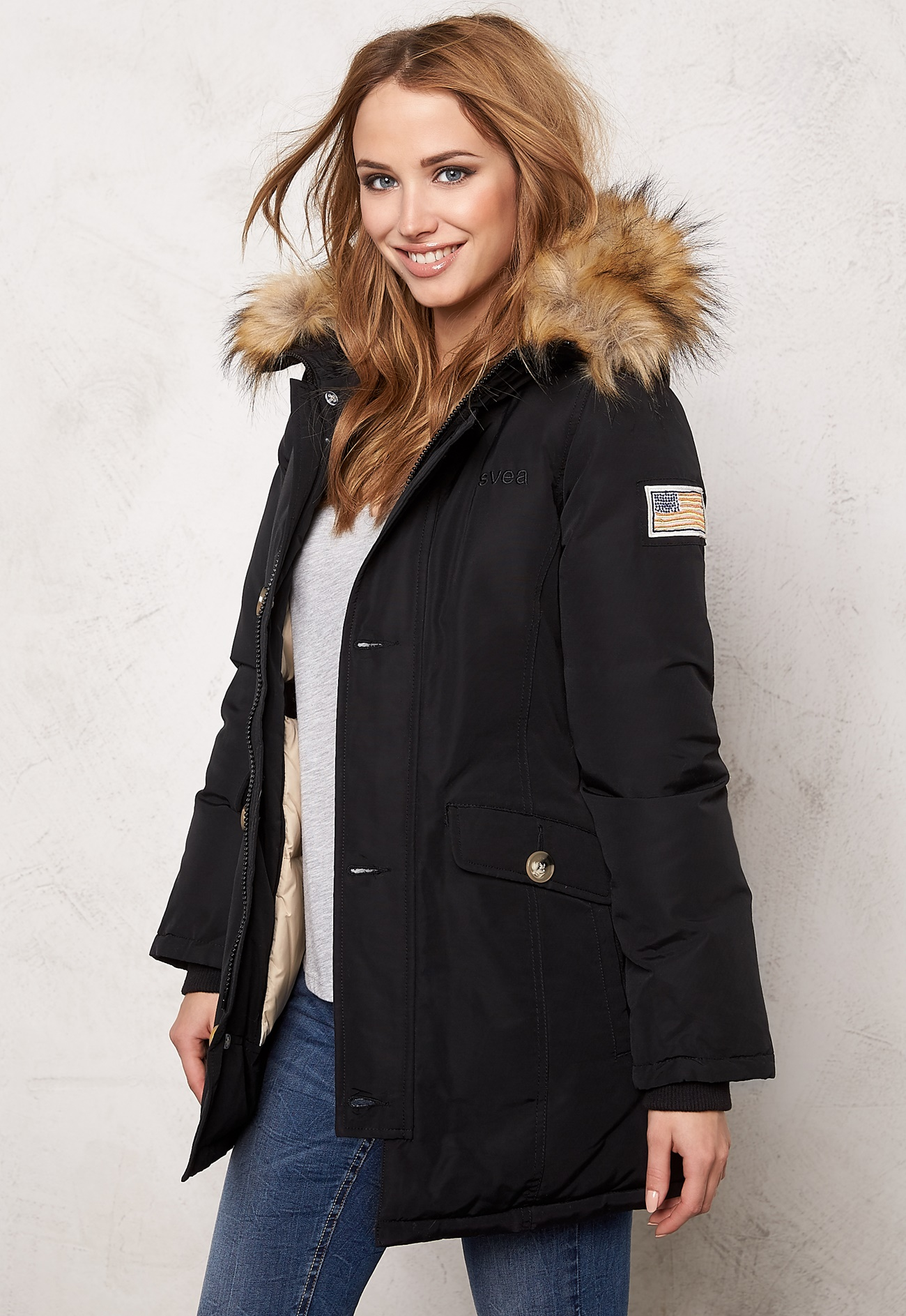 Svea Miss Smith Jacket Black Bubbleroom