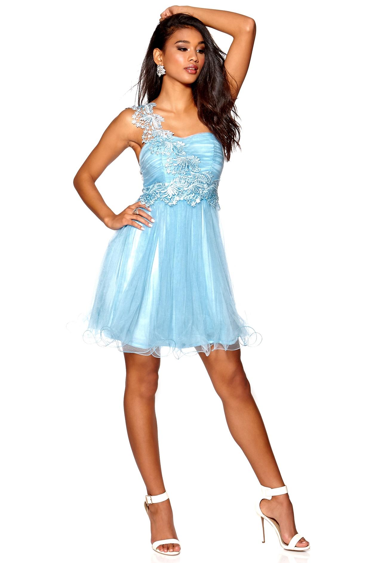 Model behaviour alexandra dress light blue bubbleroom - Modele dressing ...