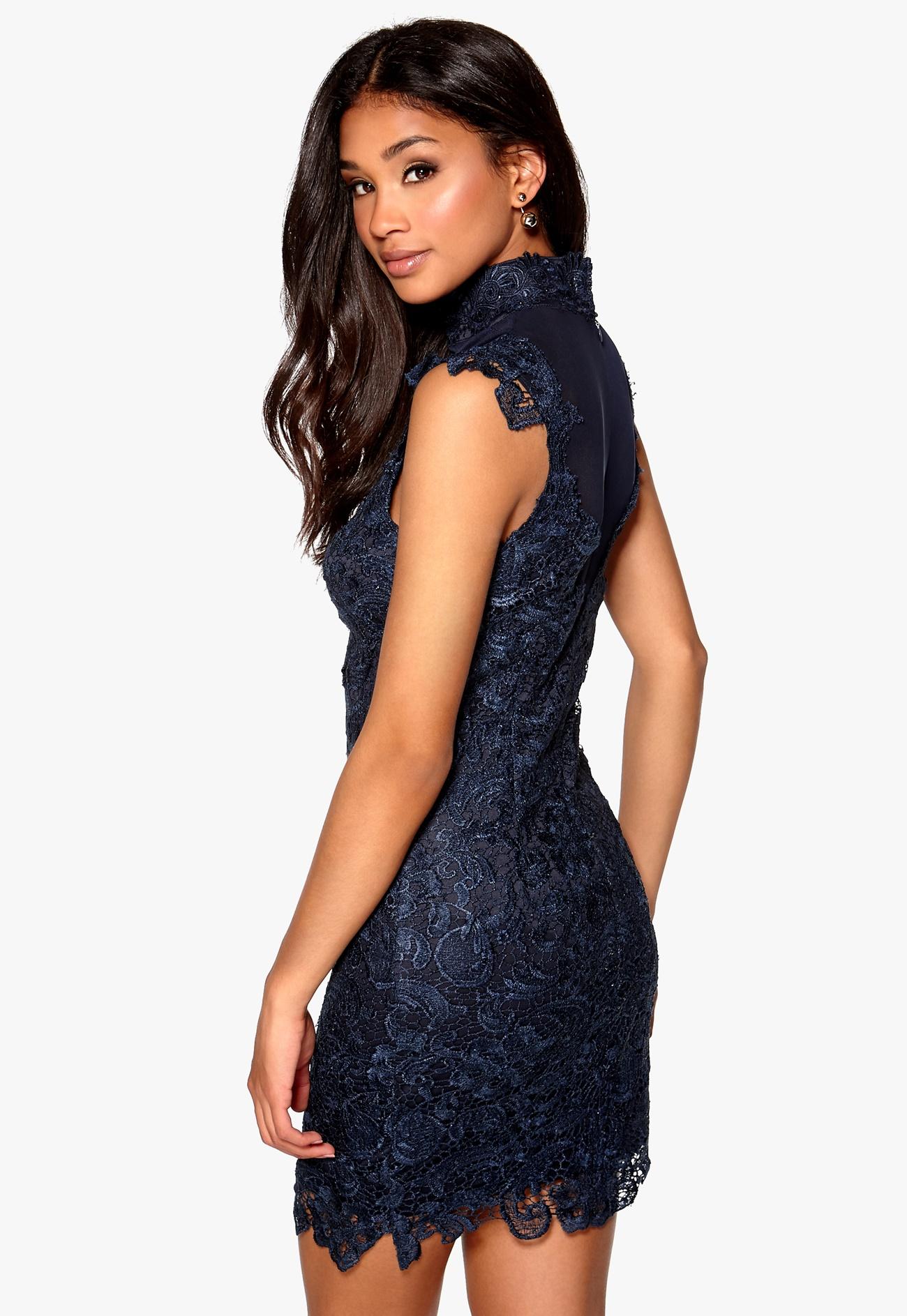 Model behaviour olivia dress dark blue bubbleroom - Modele dressing ...