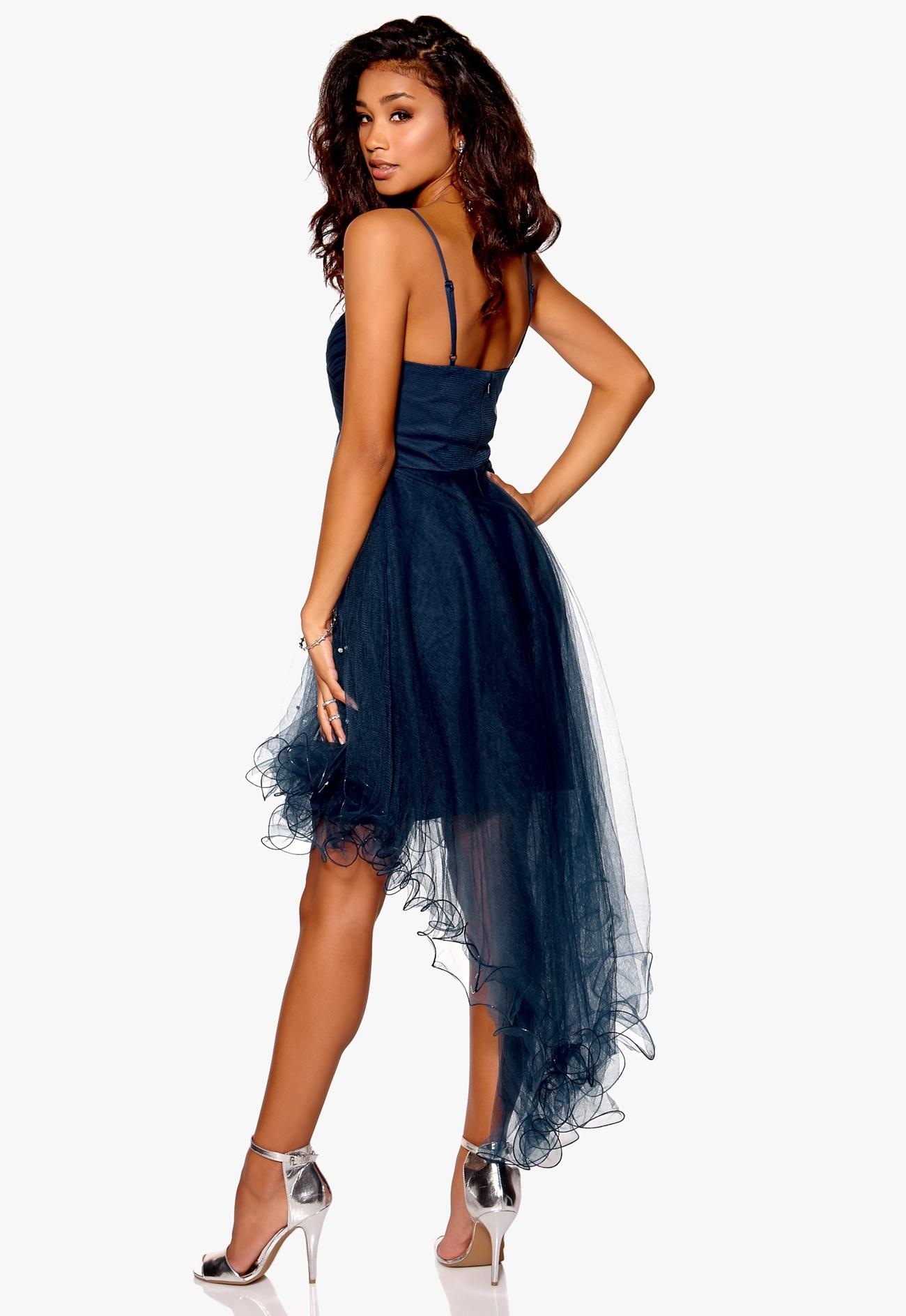Model behaviour johanna dress midnight blue bubbleroom - Modele dressing ...