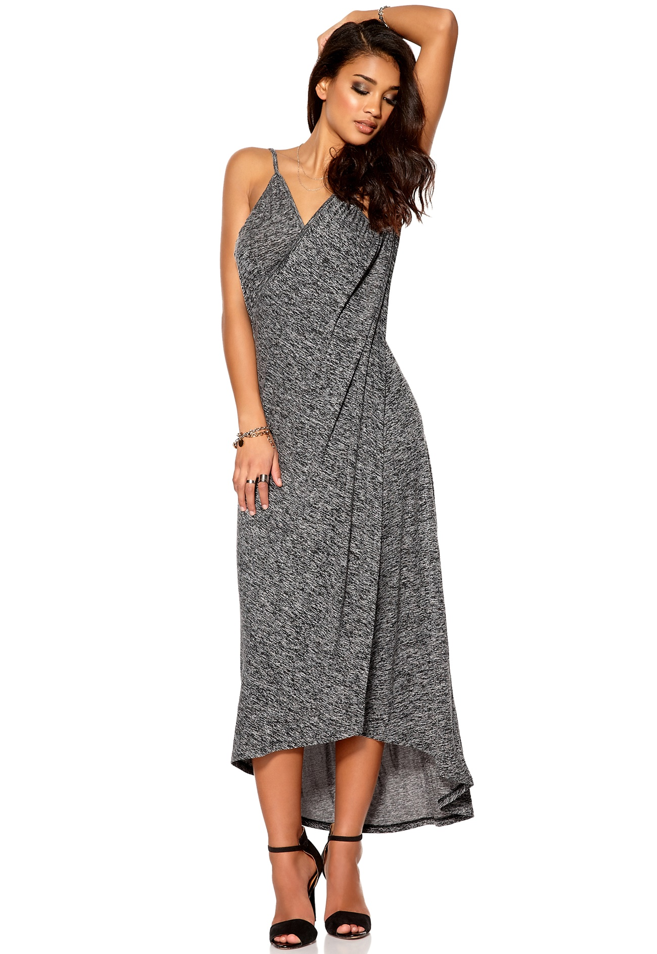 An effortless business dress by BOSS Womenswear, designed in form-fitting melange virgin wool with a touch of stretch. This dress features cropped sleeves, smooth lining, a .