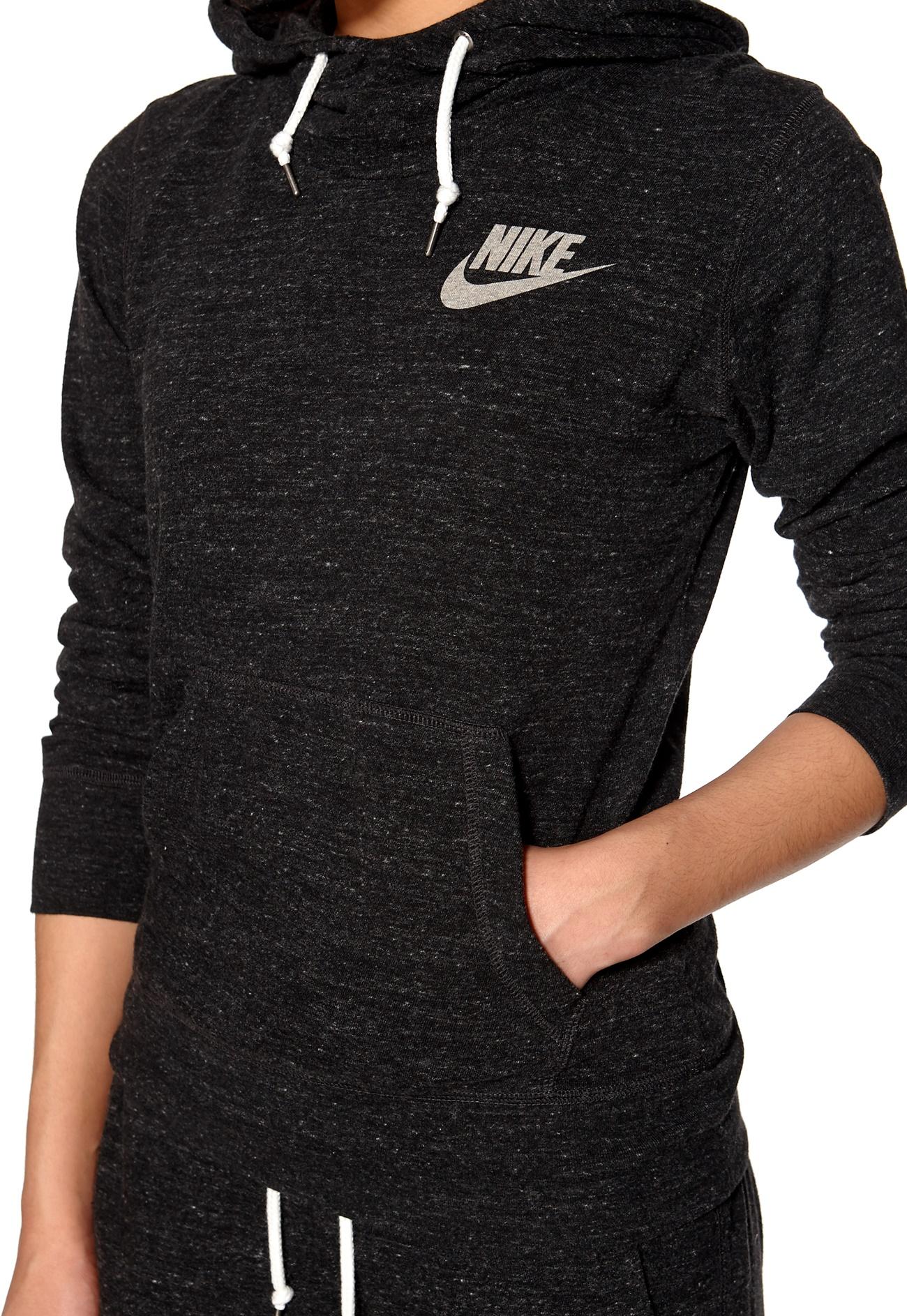 Nike Gym Vintage Pullover 010 Black - Bubbleroom