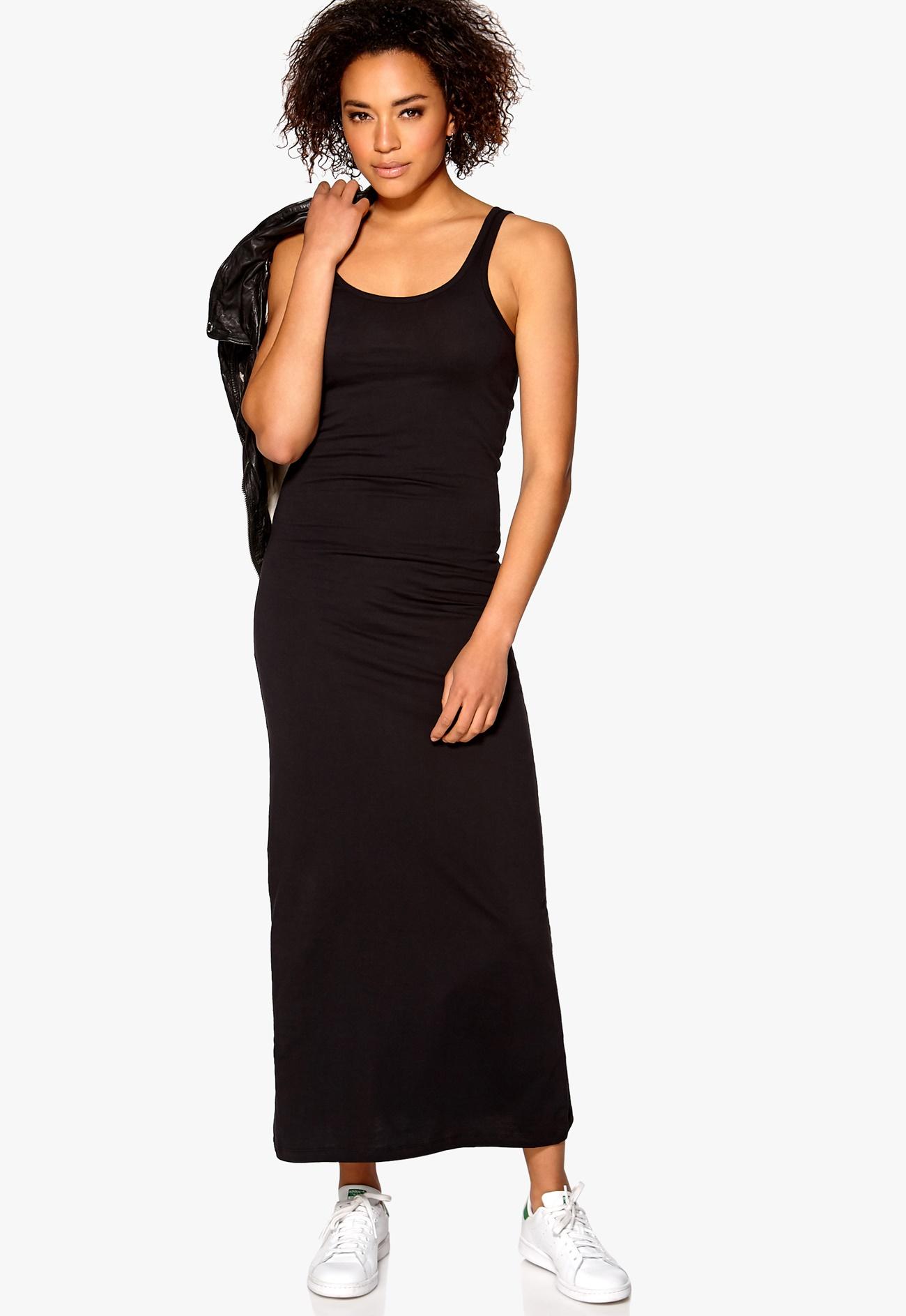 ONLY Abbie Long Tank Dress Black