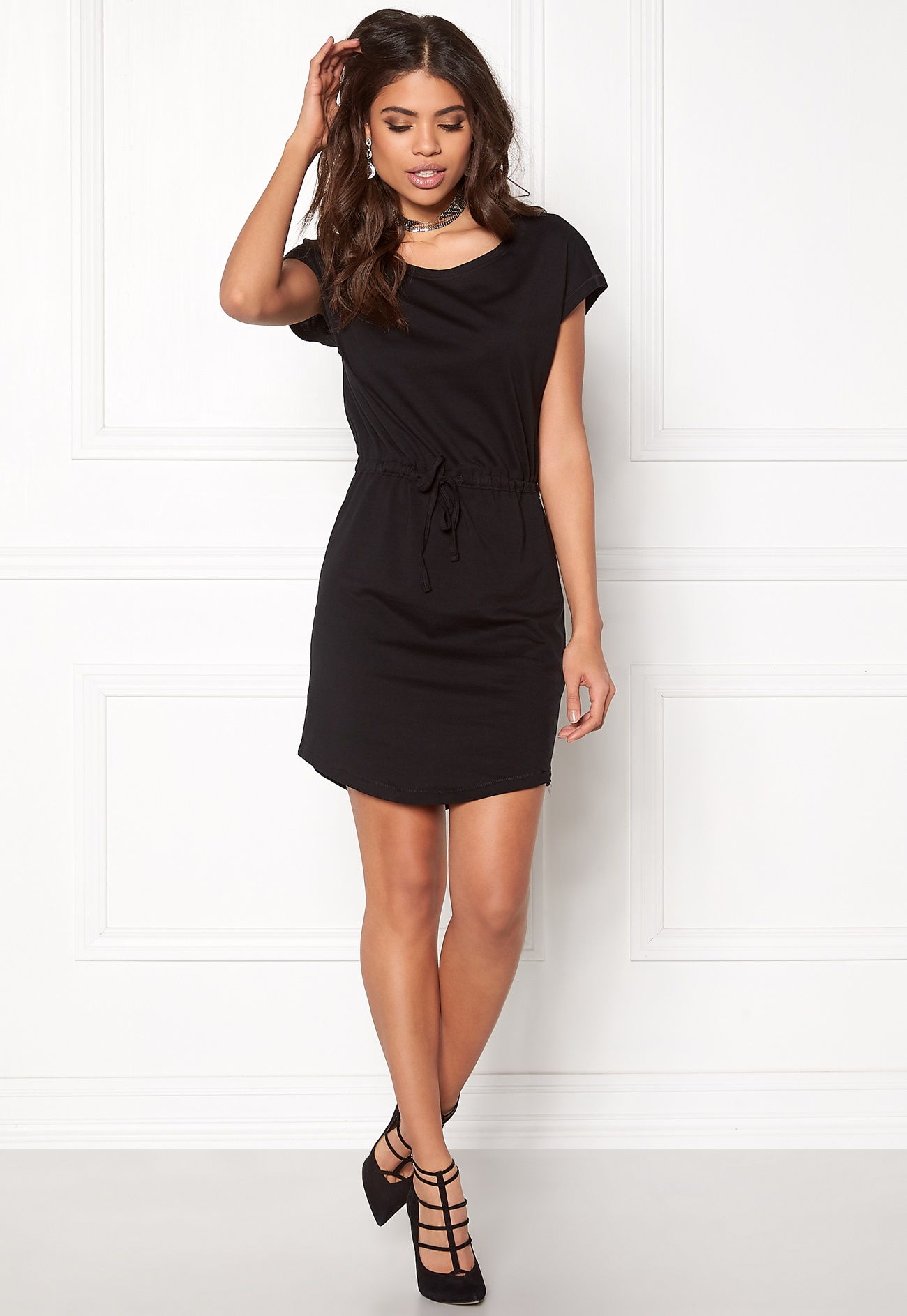 ONLY May Ss Dress Black