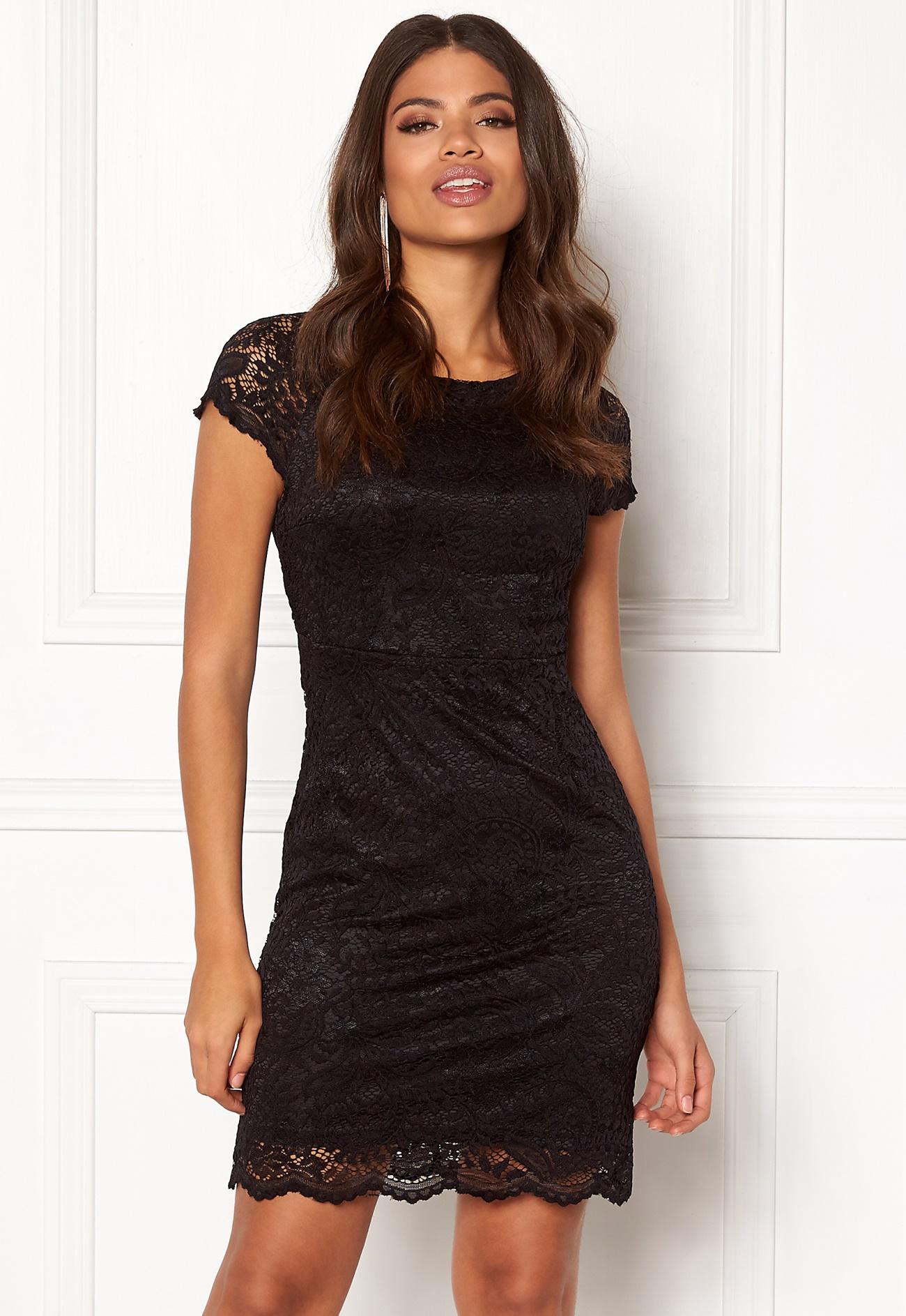 ONLY Shira Lace Dress Black