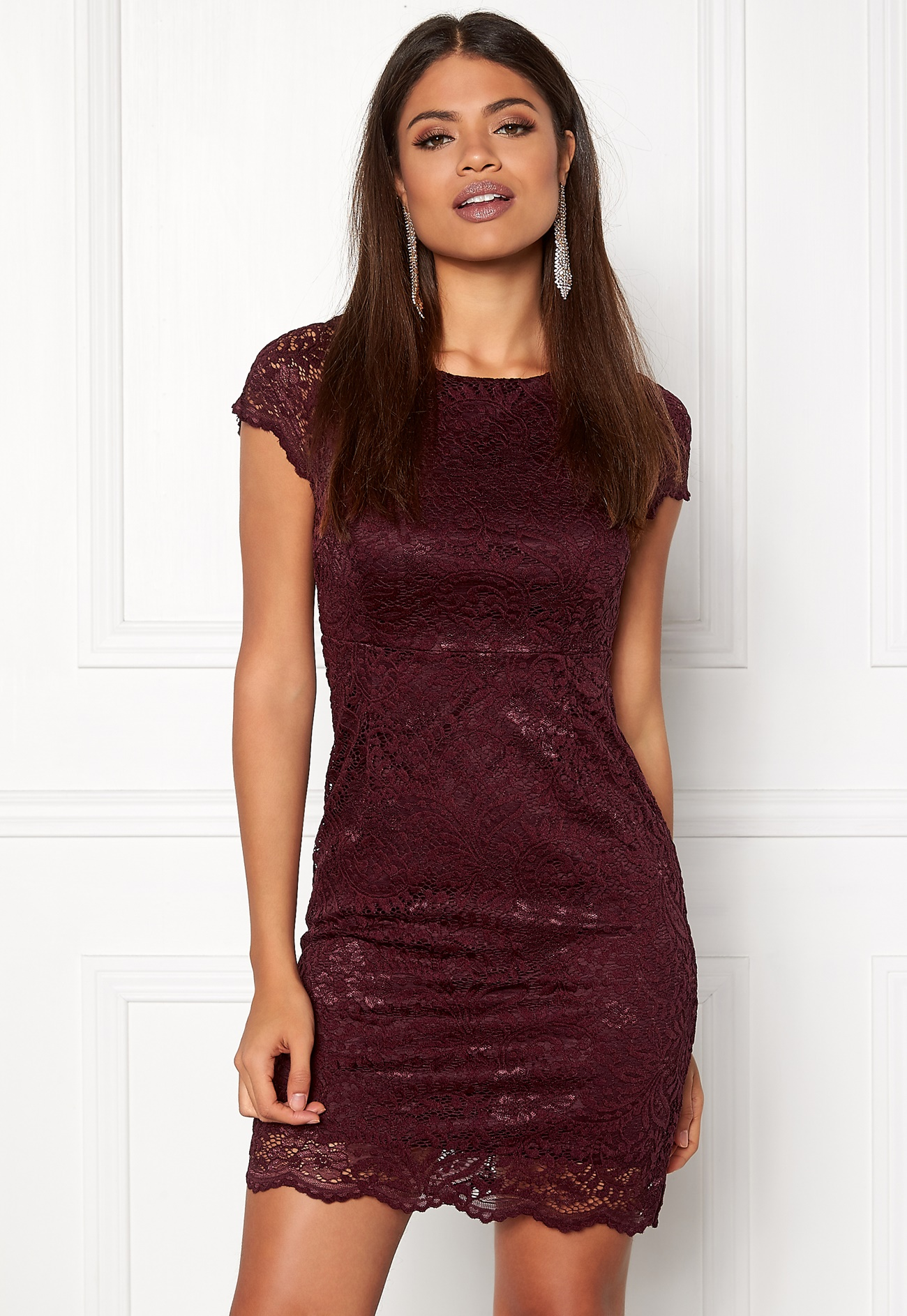 ONLY Shira Lace Dress Port Royale