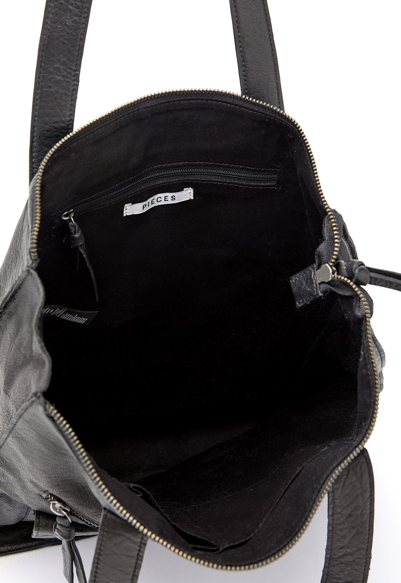 Pieces Laukut Netistä : Pieces abby leather per black bubbleroom