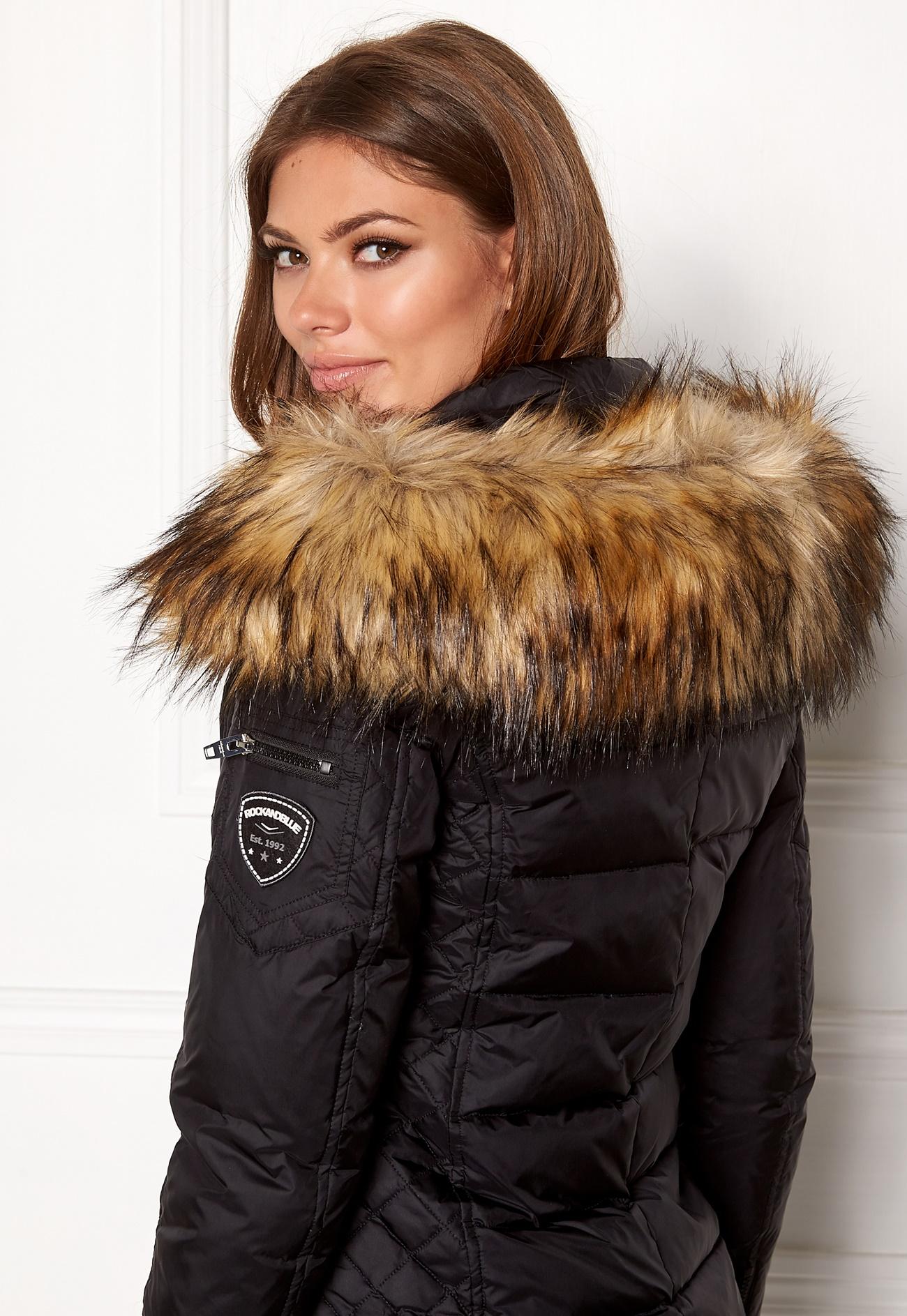 ROCKANDBLUE Faux Fur Trim Natural