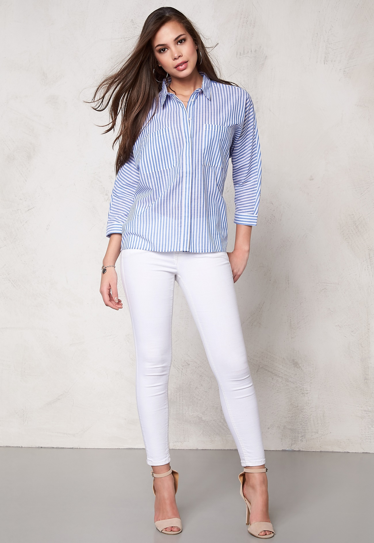 Soaked in luxury stay shirt blue and white bubbleroom for Luxury stays