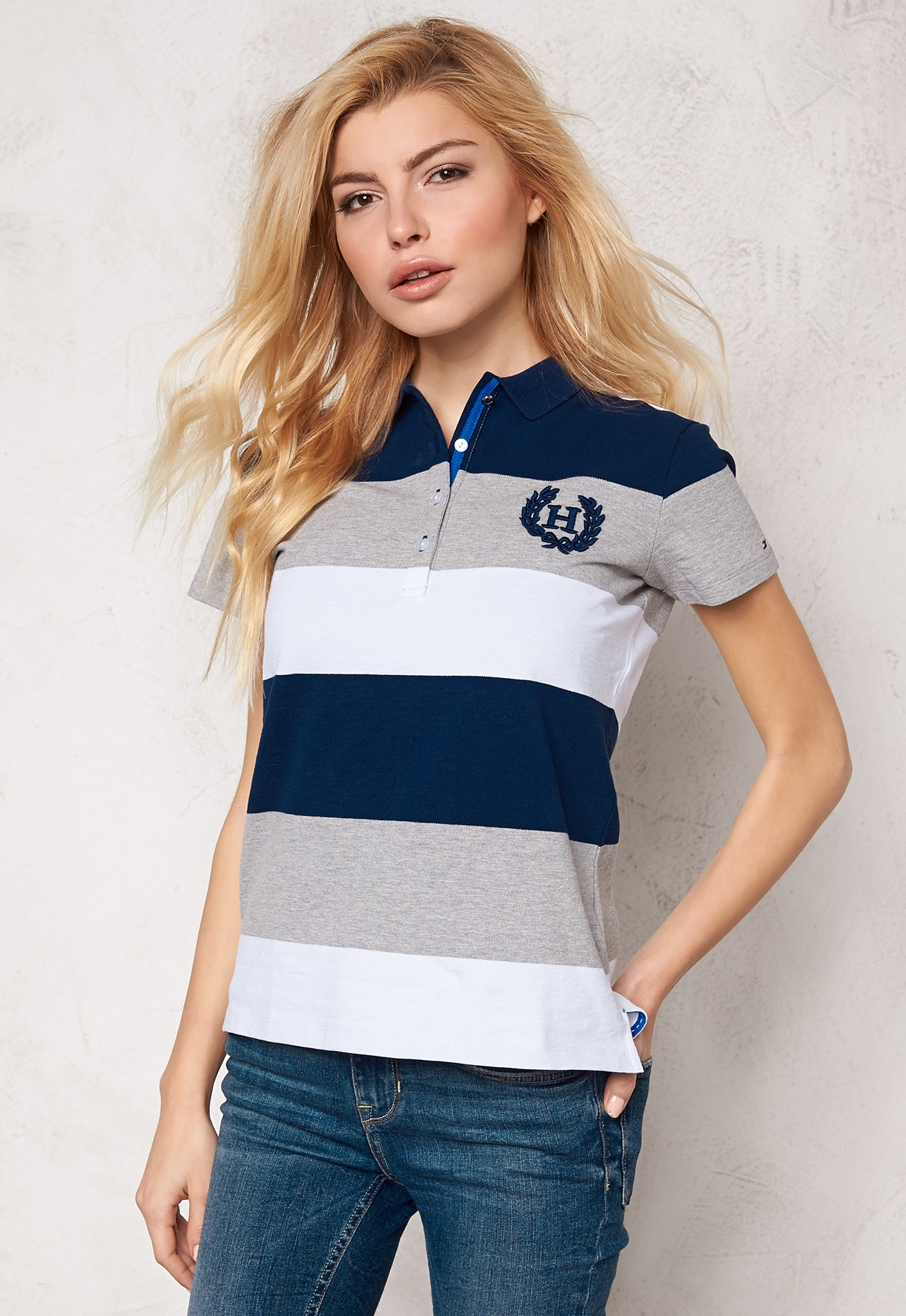 Tommy Hilfiger Mallory Polo 901 Medieval Blue Bubbleroom