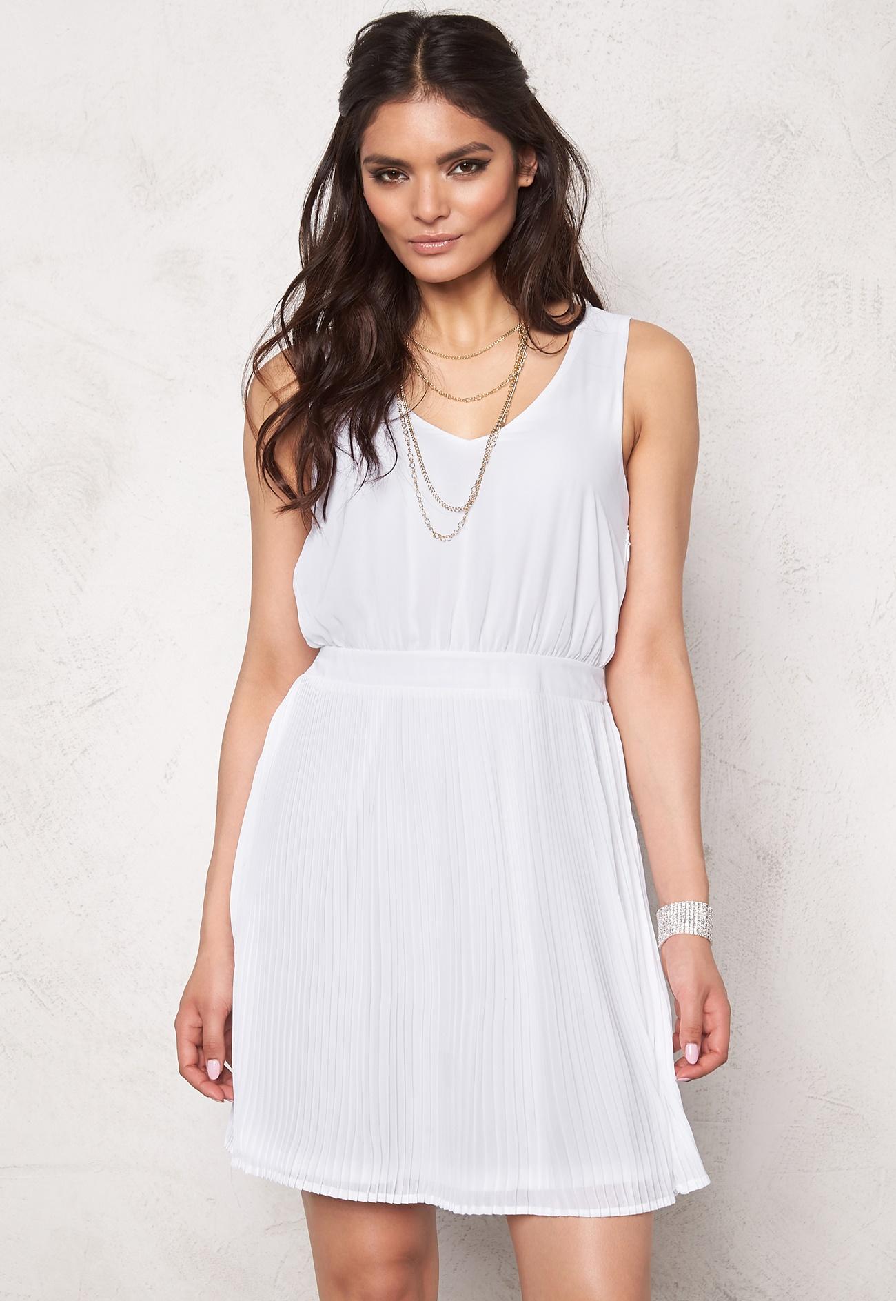 vero moda grape mini dress bright white bubbleroom. Black Bedroom Furniture Sets. Home Design Ideas