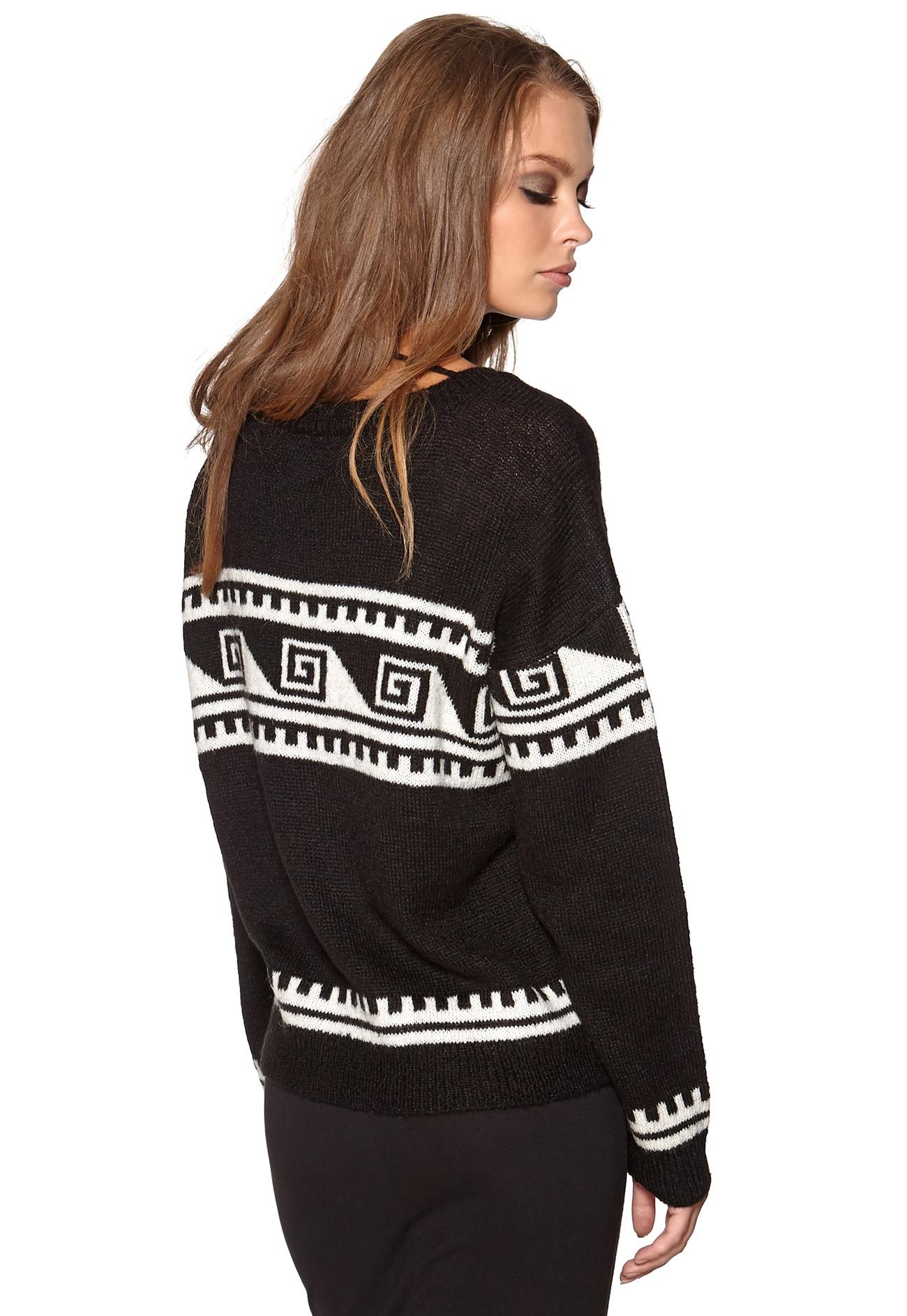 Vero Moda Knitting Patterns : Vero moda kia knit black bubbleroom