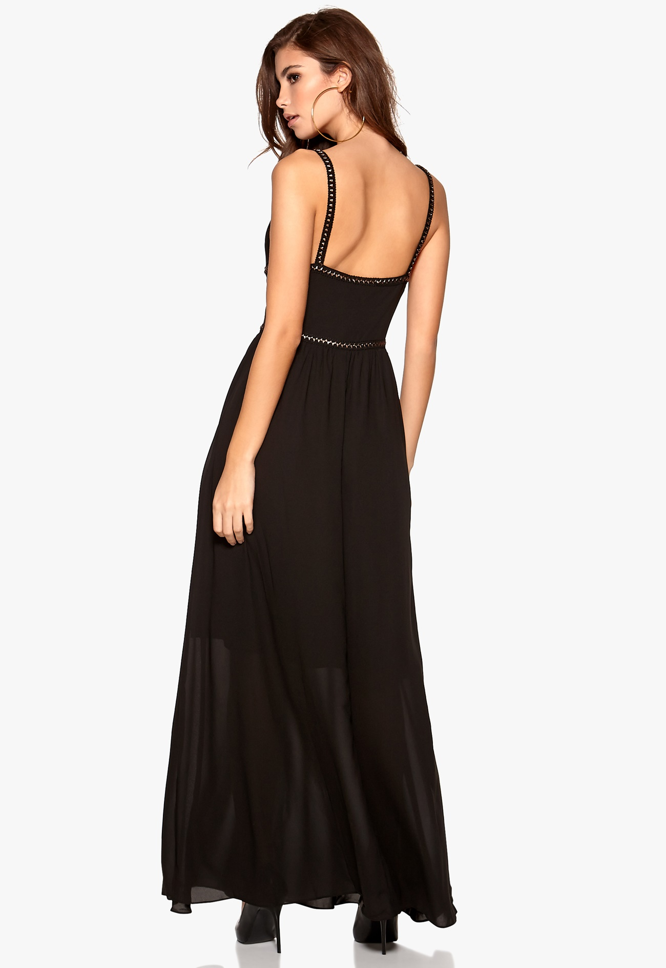 WYLDR Goddess Dress Black - Bubbleroom