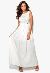 Chiara Forthi Ilona Dress White Bubbleroom.se