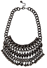 Pieces Lynn Necklace Gunmetal