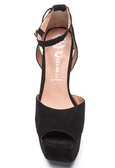 Jeffrey Campbell Perfect-2 Black Suede