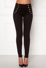 77thFLEA Adina highwaist jeans Black Bubbleroom.fi