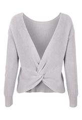 77thFLEA Damaris Sweater Light grey