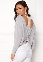 77thFLEA Damaris Sweater Light grey Bubbleroom.se