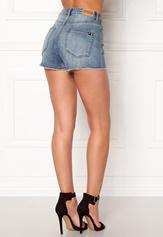 77thFLEA Felice high waist shorts Medium blue Bubbleroom.fi