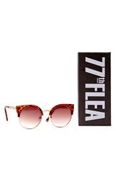 77thFLEA Pat sunglasses Brown melange