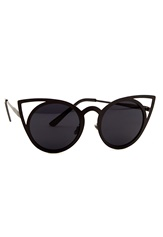77thFLEA Pointy Sunglasses Black