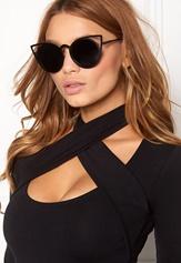 77thFLEA Pointy Sunglasses Black Bubbleroom.fi
