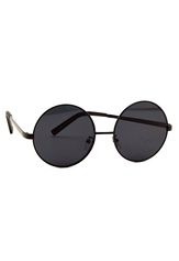77thFLEA Roundie sunglasses Black