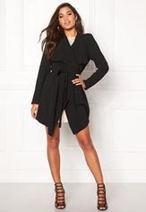 OBJECT Ann Lee Short Jacket Black Bubbleroom.se