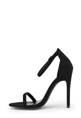 AX Paris Barely Heels Shoes Black