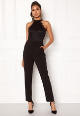 AX Paris High Neck Bodice Jumpsuit Black Bubbleroom.no