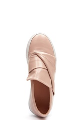Billi Bi Leather Sneaker Nude