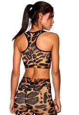 b:motion Linn sports bra Leopard