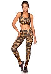 b:motion Alex printed train tights Leopard