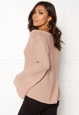 BUBBLEROOM Esther knitted sweater Dusty pink