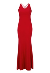 BUBBLEROOM Jaylin prom dress Red