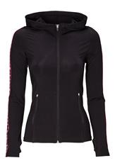BUBBLEROOM SPORT Run hood jacket Black