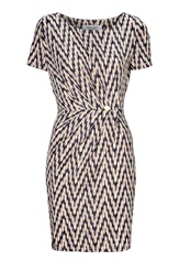 Chiara Forthi Amy Dress Black / Grey / Beige