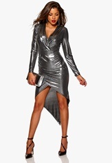 Chiara Forthi Atlanta Slimming Dress Silver coloured Bubbleroom.se