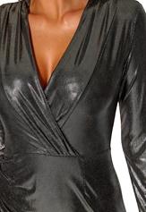 Chiara Forthi Atlanta Slimming Dress Silver coloured