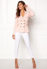 Chiara Forthi Chiara Heavy Knit Blazer Light pink