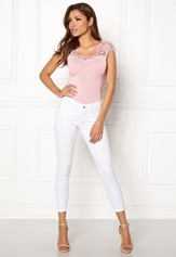 Chiara Forthi Clea Top s/s Light pink