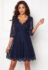 Chiara Forthi Ellix Dress - 2 Dark blue Bubbleroom.fi