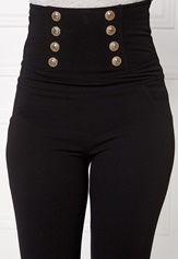 Chiara Forthi INtrend Napoleon Pant Black / Gold