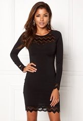 Chiara Forthi Kelly dress Black Bubbleroom.dk