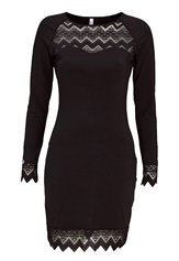 Chiara Forthi Kelly dress Black