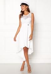 Chiara Forthi Kimberly Highlow Dress Antique white Bubbleroom.fi